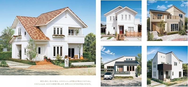 広島の住宅メーカー(ハウスメーカー)「一条工務店広島」 カタログ「セゾンA」イメージ0